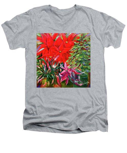 Gather Round Friends Men's V-Neck T-Shirt