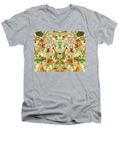 Gathering Of Mind Men's V-Neck T-Shirt