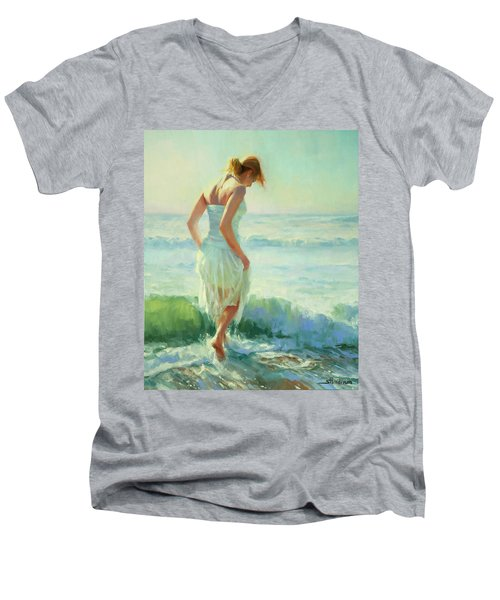 Gathering Thoughts Men's V-Neck T-Shirt