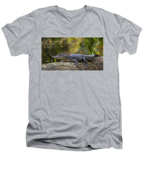 Gator Time Men's V-Neck T-Shirt