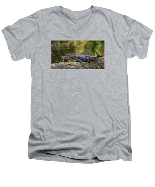 Gator Time Men's V-Neck T-Shirt