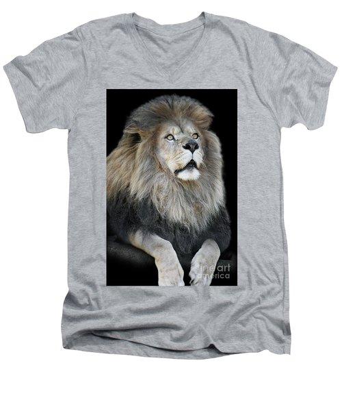 Gazing V2 Men's V-Neck T-Shirt