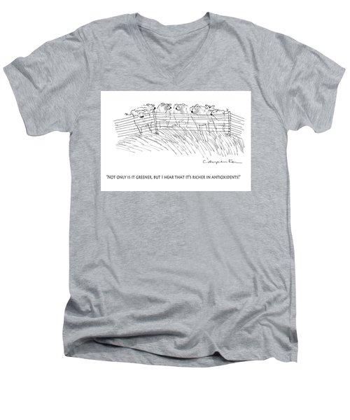 Greener Grass Men's V-Neck T-Shirt