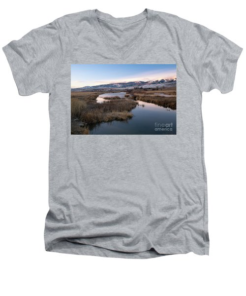 Gem Valley Men's V-Neck T-Shirt