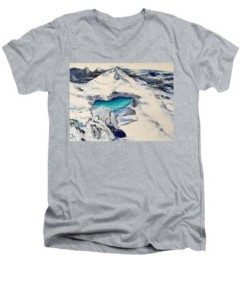 Gemstone Lake Men's V-Neck T-Shirt