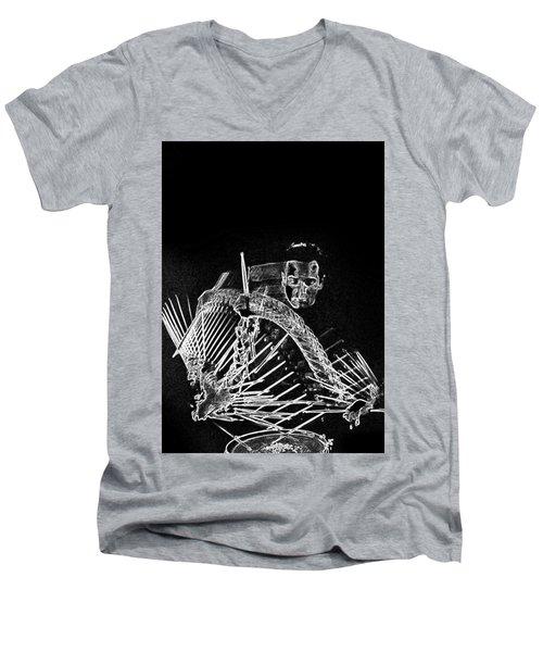 Gene Krupa Men's V-Neck T-Shirt