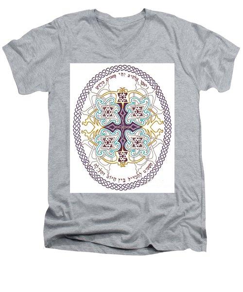 Genesis 1 14 Men's V-Neck T-Shirt