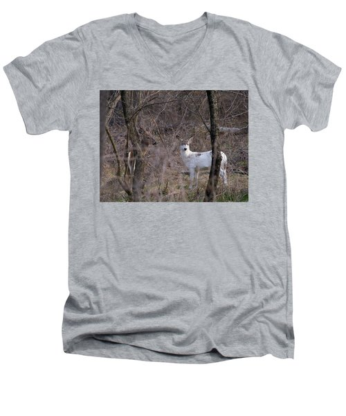 Genetic Mutant Deer Men's V-Neck T-Shirt