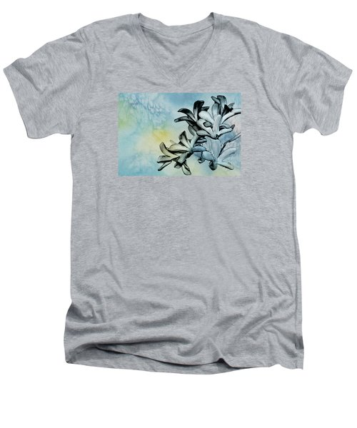 Gentle Blooms Men's V-Neck T-Shirt
