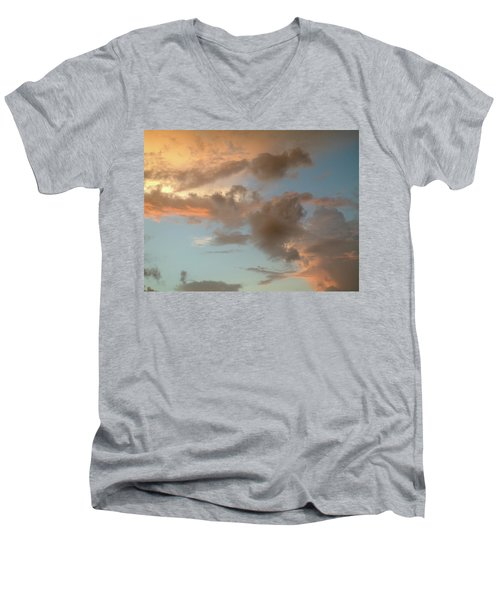 Gentle Clouds Gentle Light Men's V-Neck T-Shirt