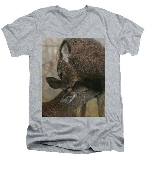 Gentle Moments Men's V-Neck T-Shirt