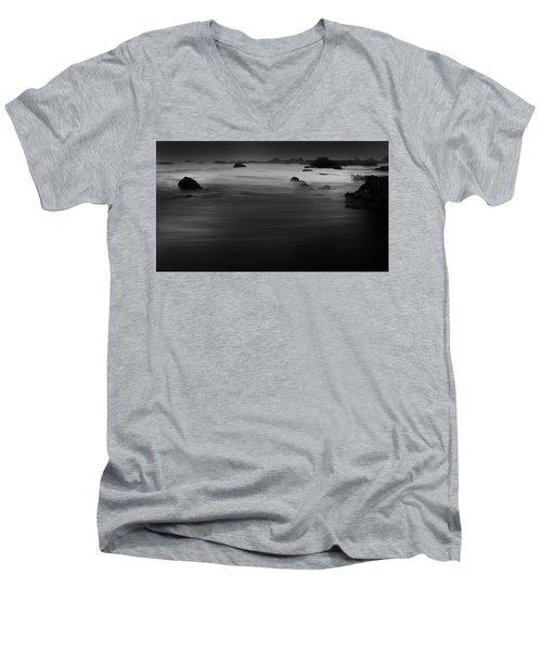 Gentle Surge Men's V-Neck T-Shirt