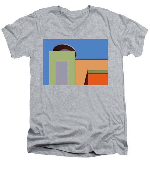 Geometry 101 Men's V-Neck T-Shirt