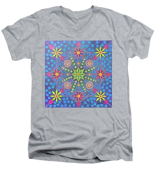 Geometry Of An Arkana Men's V-Neck T-Shirt