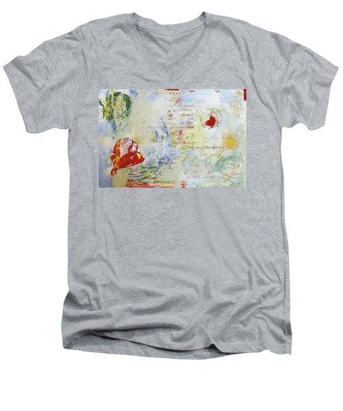 Geometry Of Desire Circles Men's V-Neck T-Shirt