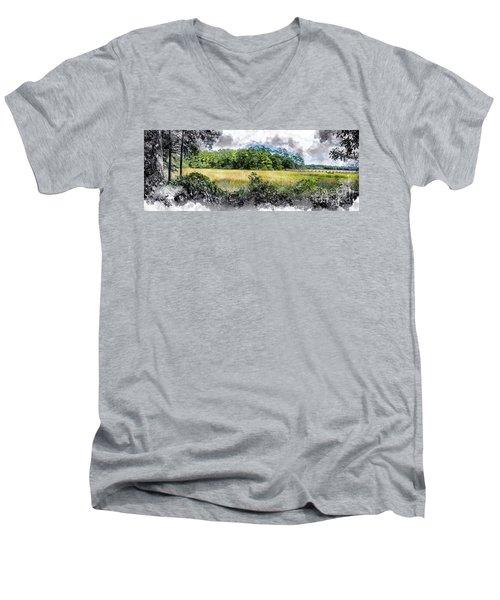 George Washington Trail Men's V-Neck T-Shirt