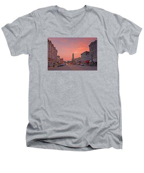 Georgetown Kentucky Men's V-Neck T-Shirt