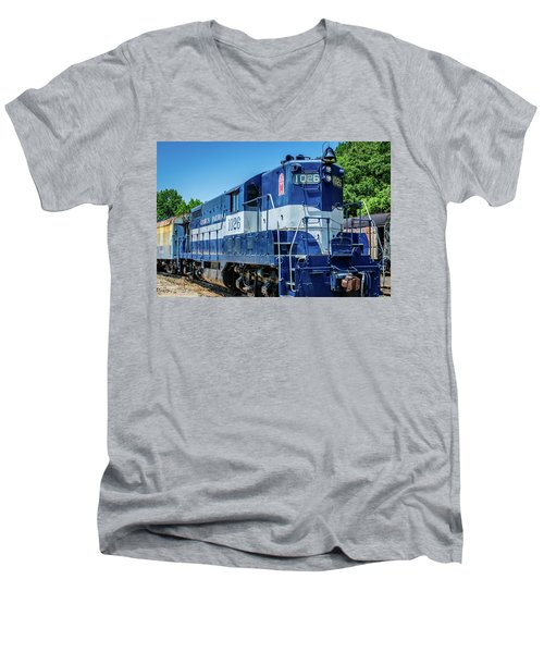 Georgia 1026 Men's V-Neck T-Shirt