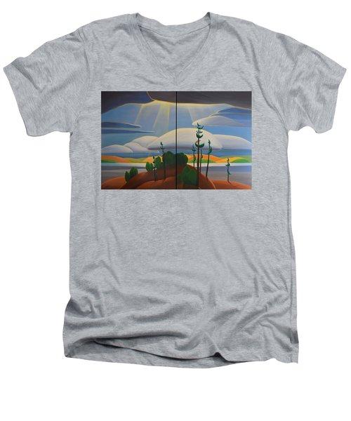 Georgian Shores Men's V-Neck T-Shirt