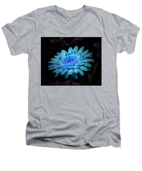 Gerbera Daisy Art Men's V-Neck T-Shirt
