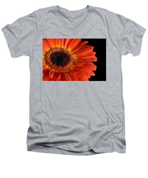 Gerbera I Men's V-Neck T-Shirt