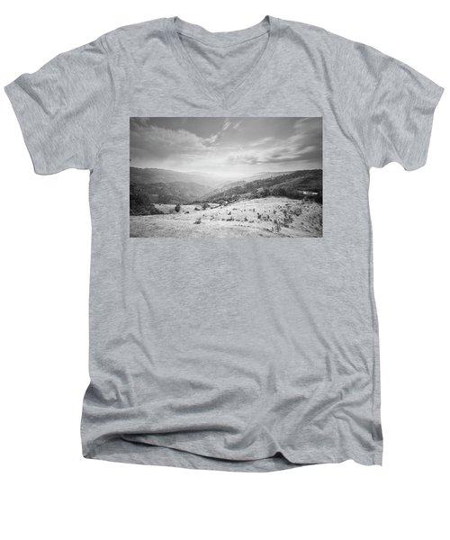 Geres The Not Burned Area.. Yet.. Men's V-Neck T-Shirt