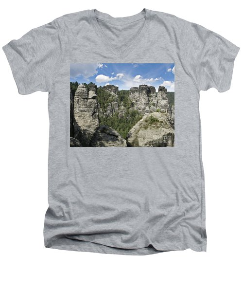 Germany Landscape Men's V-Neck T-Shirt