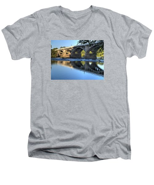 Gervais Street Bridge-1 Men's V-Neck T-Shirt
