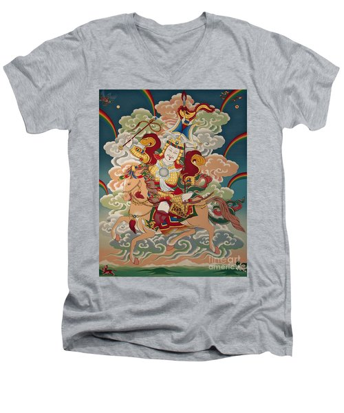Gesar Gyalpo Men's V-Neck T-Shirt