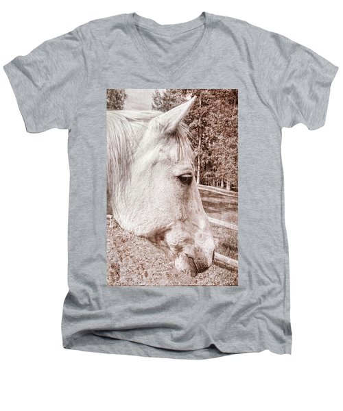 Get My Good Side, Please Men's V-Neck T-Shirt