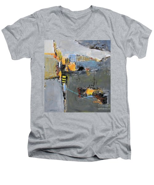 Getting There Men's V-Neck T-Shirt by Ron Stephens