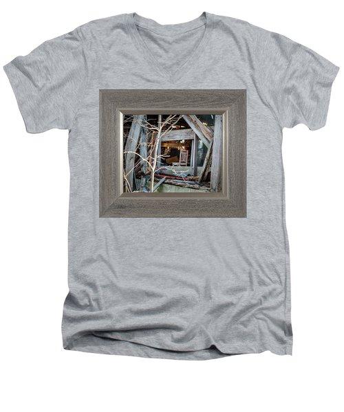 Ghost Chair Men's V-Neck T-Shirt