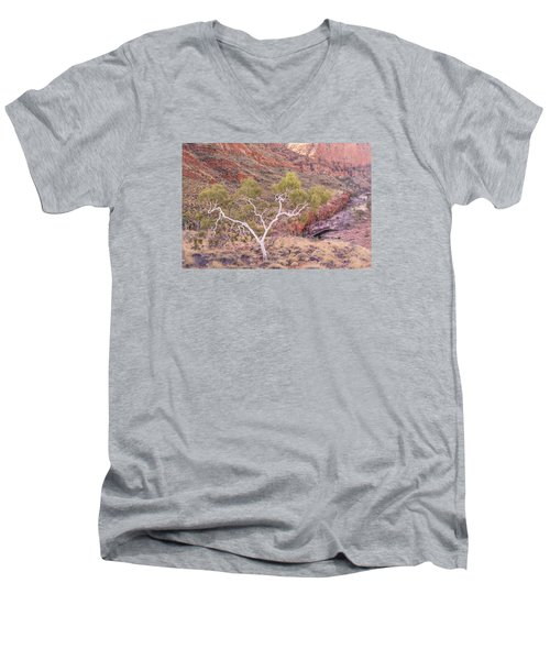 Ghost Gum Men's V-Neck T-Shirt