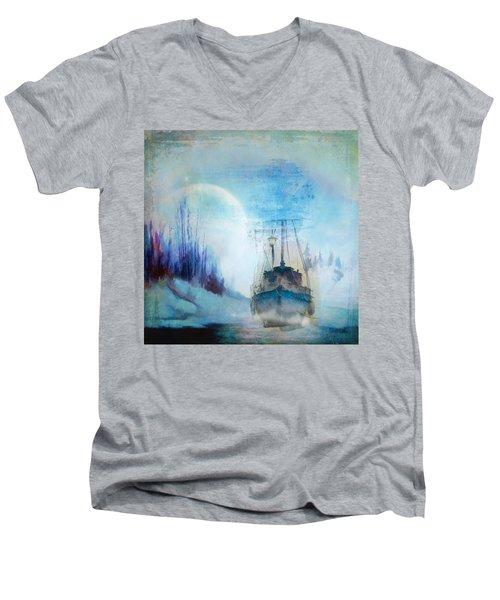 Ghost Ship Men's V-Neck T-Shirt