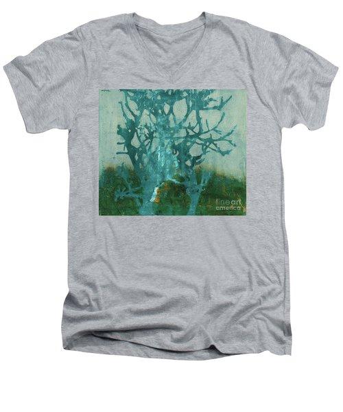 Ghost Tree Men's V-Neck T-Shirt