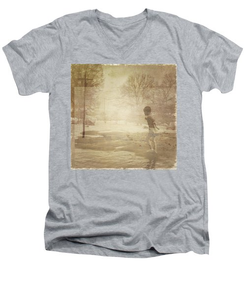Ghosts And Shadows Vi - Mistaken Men's V-Neck T-Shirt