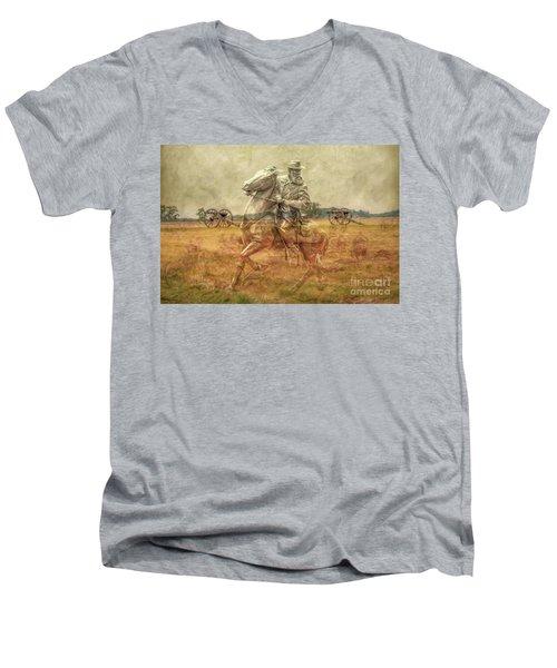 Ghosts Of Gettysburg II Men's V-Neck T-Shirt