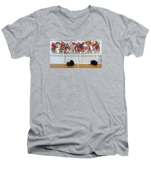Ghsa Art Banner Prototype Men's V-Neck T-Shirt