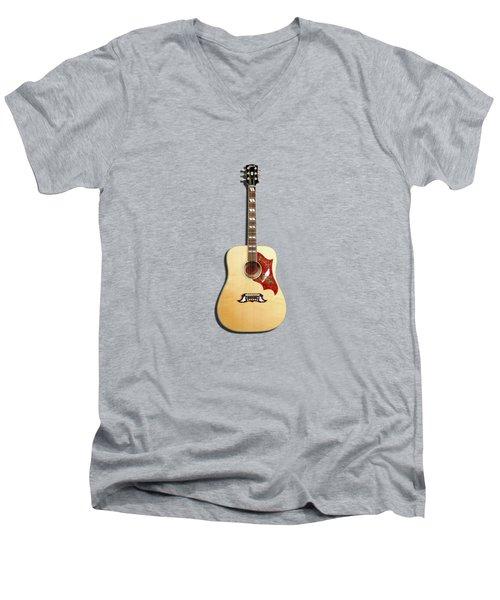 Gibson Dove 1960 Men's V-Neck T-Shirt