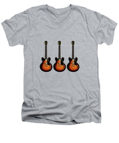 Gibson Es 335 1959 Men's V-Neck T-Shirt