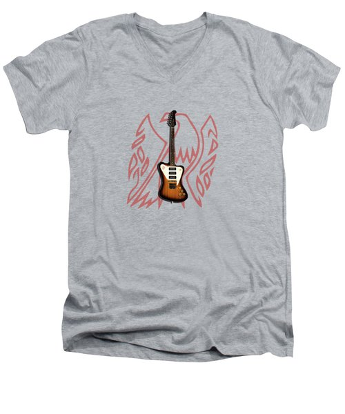 Gibson Firebird 1965 Men's V-Neck T-Shirt