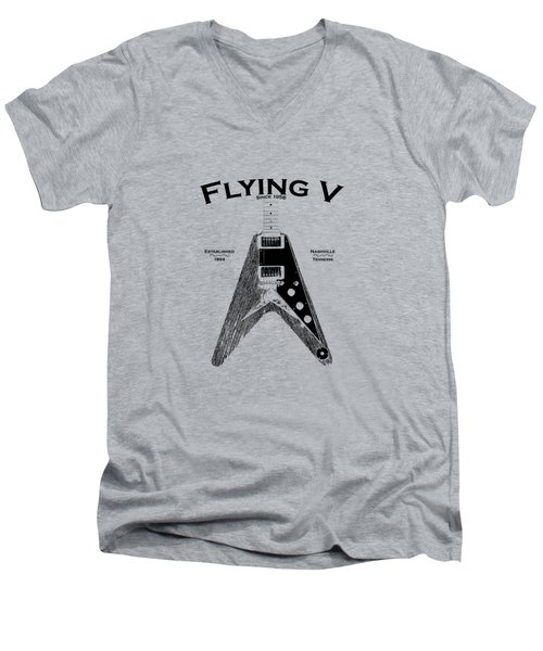 Gibson Flying V Men's V-Neck T-Shirt