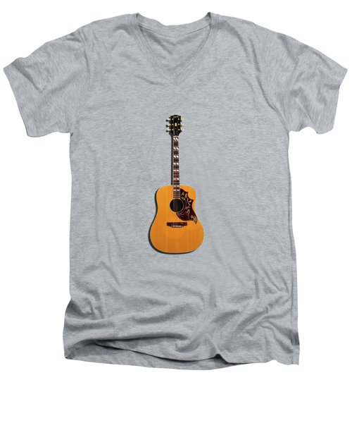 Gibson Hummingbird 1968 Men's V-Neck T-Shirt