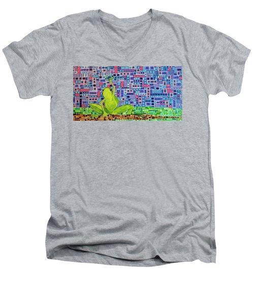 Gimme Shelter Men's V-Neck T-Shirt