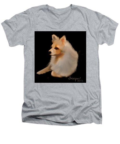 Ginger Men's V-Neck T-Shirt