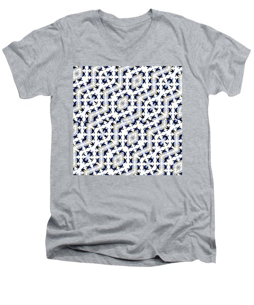 Giraffe Abstract 02 Men's V-Neck T-Shirt