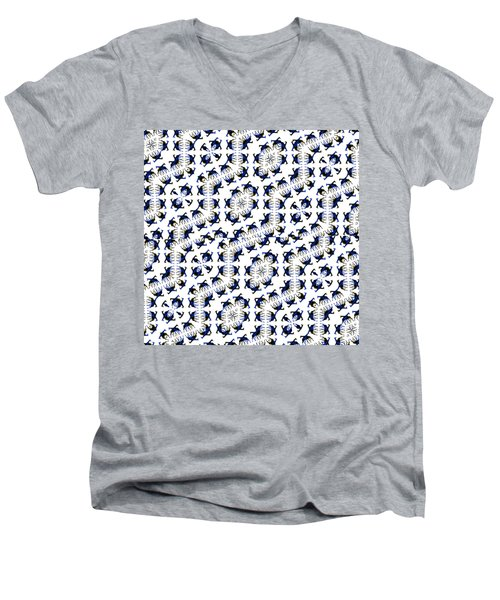 Giraffe Abstract 02 Men's V-Neck T-Shirt