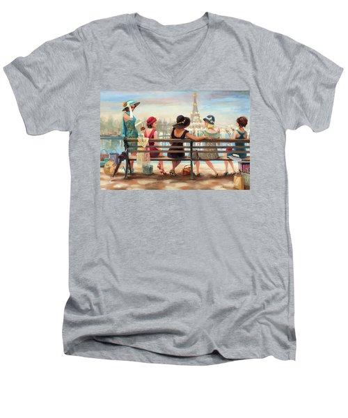 Girls Day Out Men's V-Neck T-Shirt