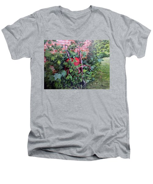 Give And Take Men's V-Neck T-Shirt