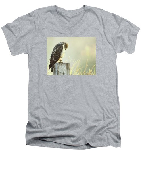 Giving Thanks.. Men's V-Neck T-Shirt by Al  Swasey
